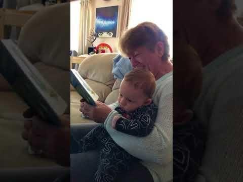 Scottish Grandma reading The Wonky Donkey. Hee-Haw!