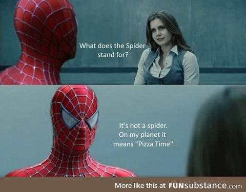 It's not a pider