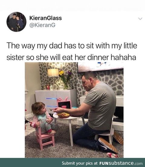 He's a great dad!