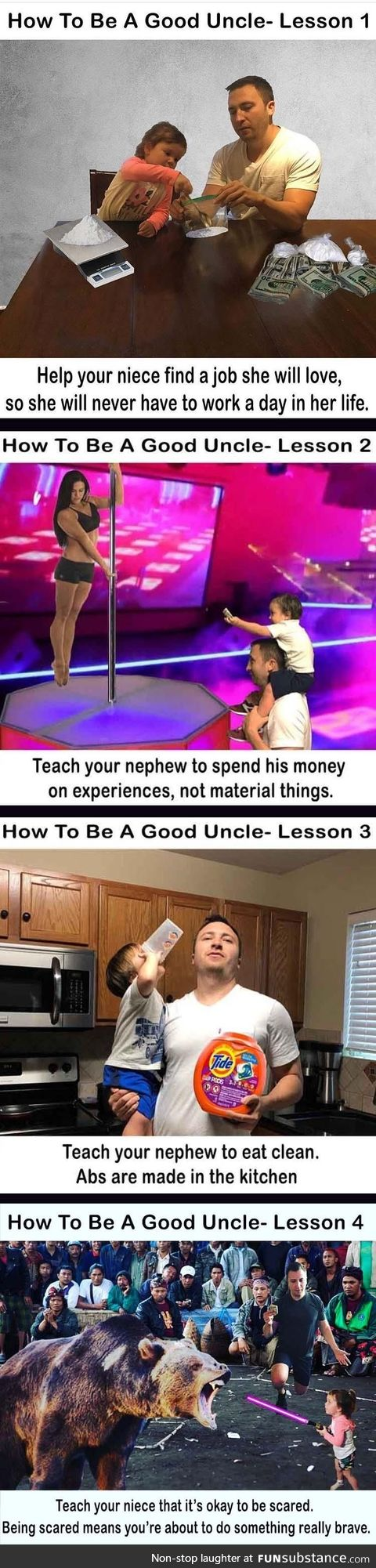 How to be a good uncle