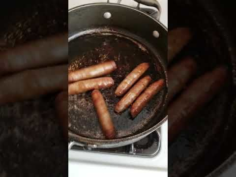 Sausages crying for their lives