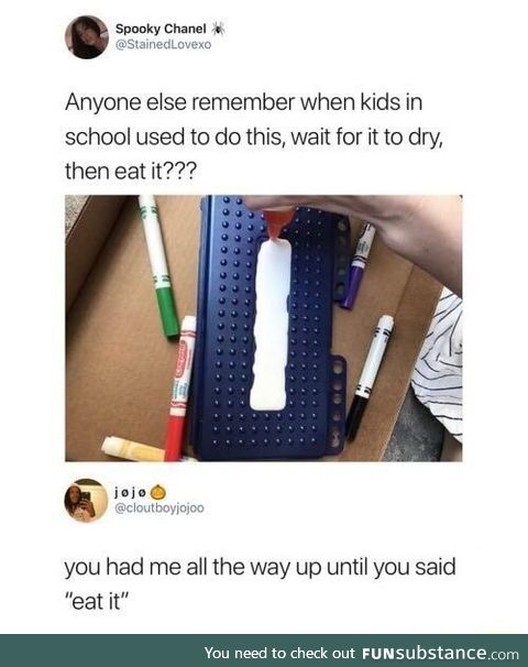 As a 90s kid I can't remember
