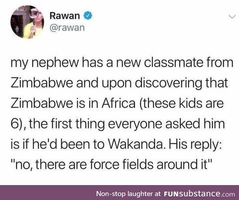 Wakanda is real