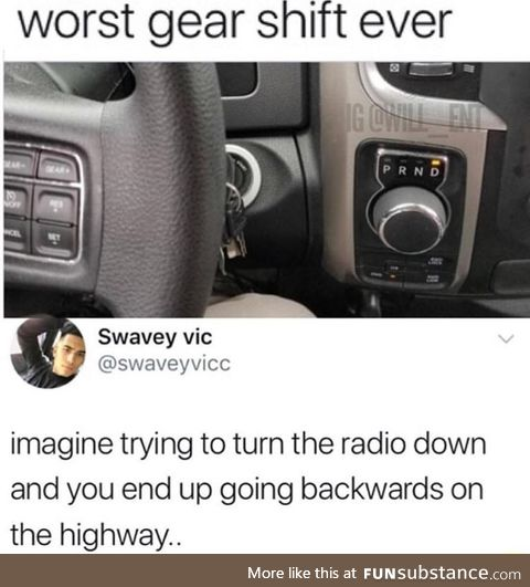 Worst gear shift