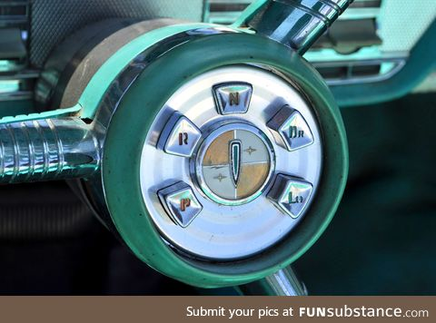 In the spirit of weird gearshift layouts