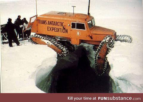 Mind the gap (1955/58 Trans-Antarctic expedition)