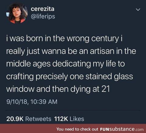 Wrong century