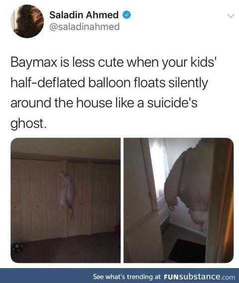 Baymax ghost