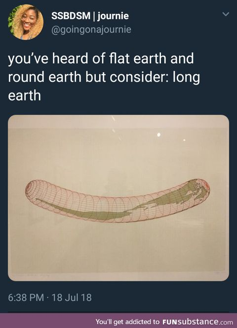 Long earth syndrome