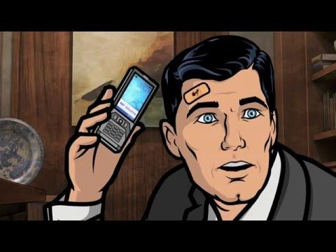 Epic scene from Archer