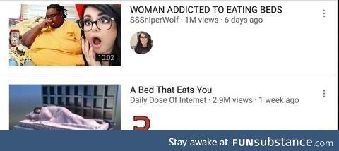 Revenge of the bed