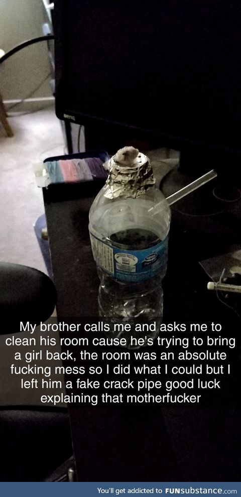 Just being a good brother