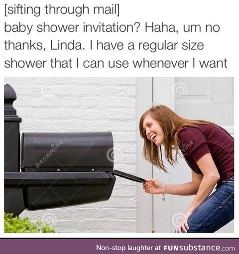 Big baby shower