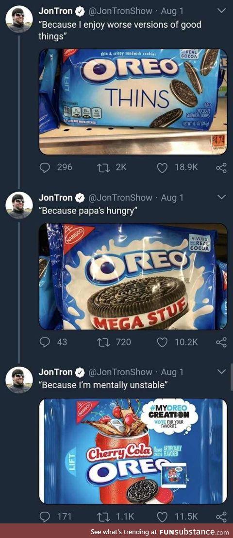 Jontron making good use of time