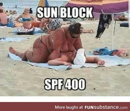 Sunblock spf 400