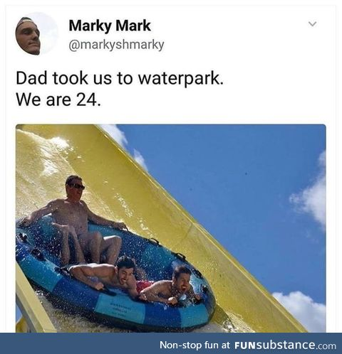 Waterparks are fun no matter what age