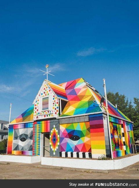 Colourfully house