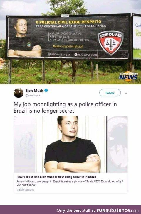 Elon Musk is everywhere