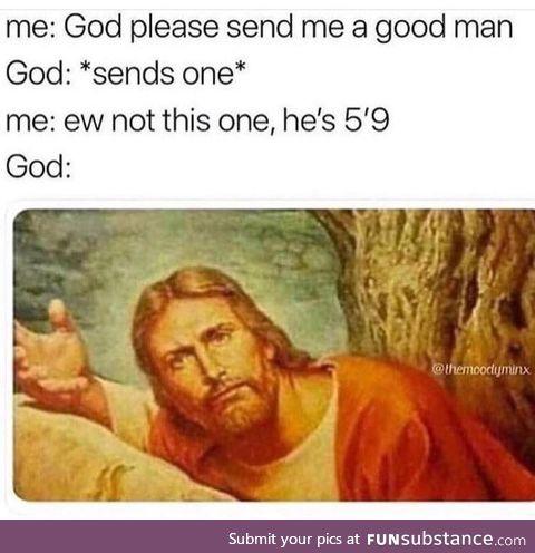 God please