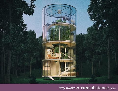 This tree house