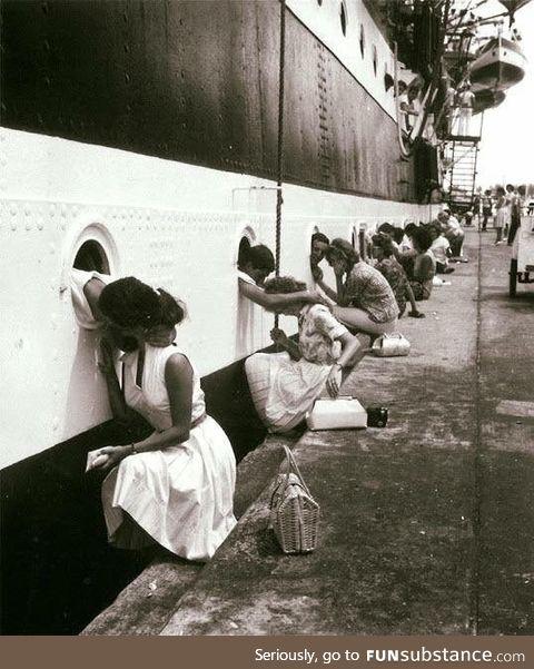 "The ""Last Kiss"", a photograph from World War II"