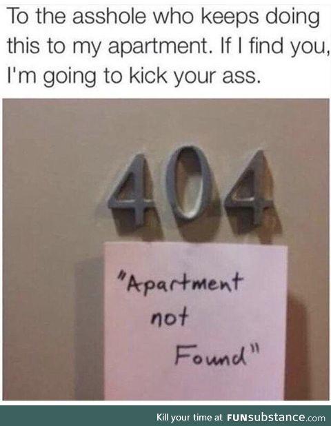 Apartment 404