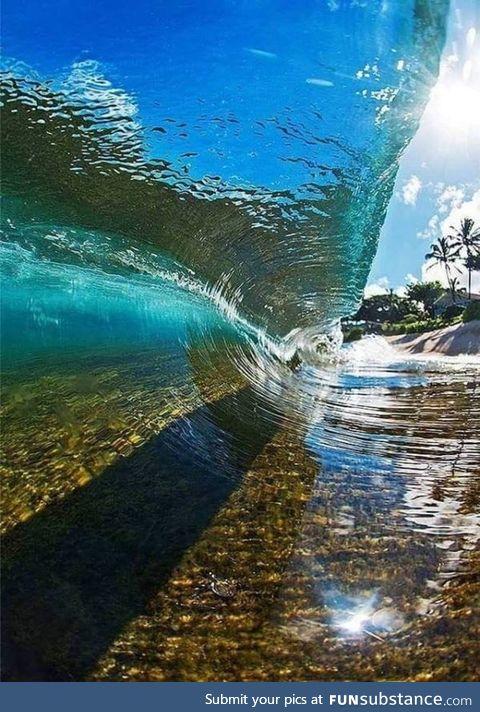 A transparent wave