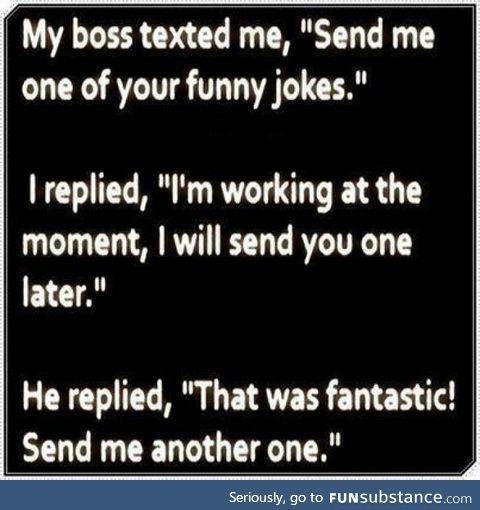 It's funny cos it's true