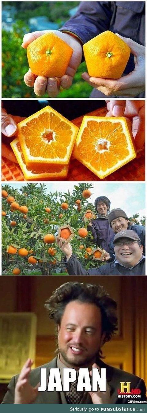 Pentagon oranges