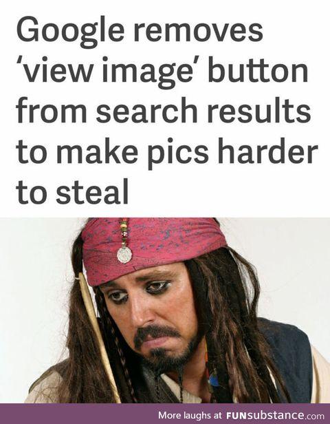 Sad pirate