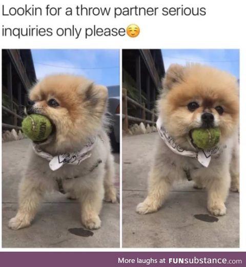 Throw partner