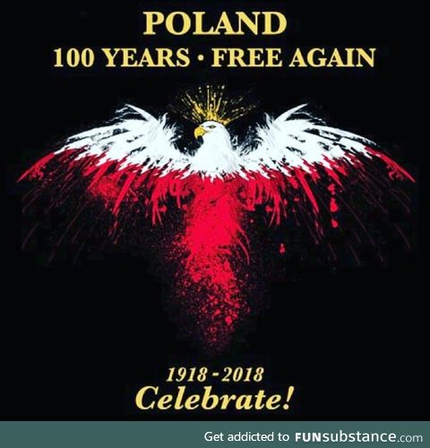 100 years of Polish Independence 11/11/2018