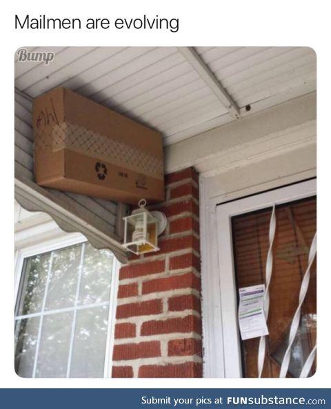 Mailmen are smart