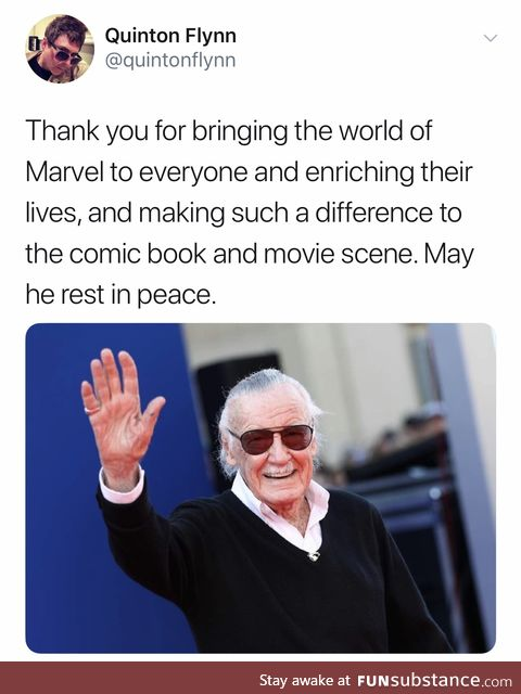 Some kind words from a great voice actor