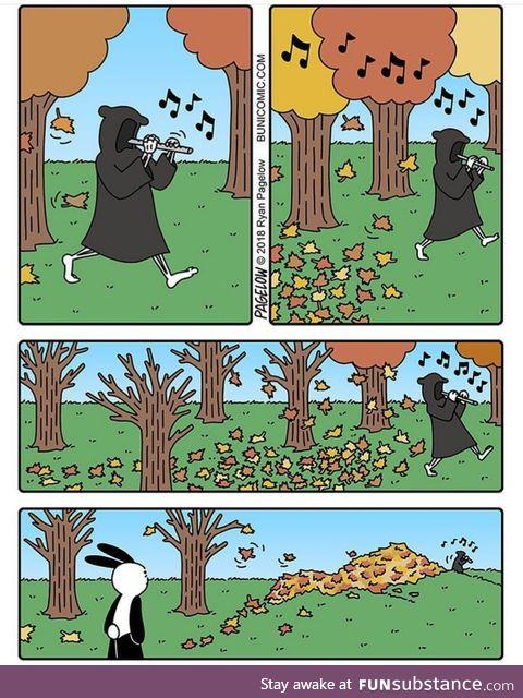 Death's job is never ending