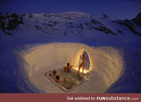 The ultimate jacuzzi
