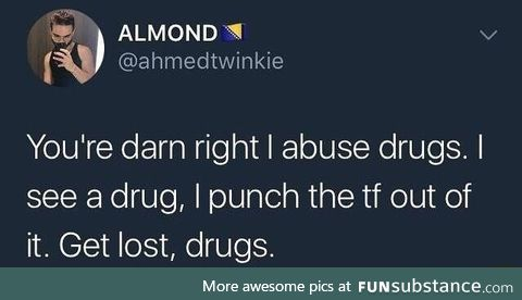 Abuse the powders