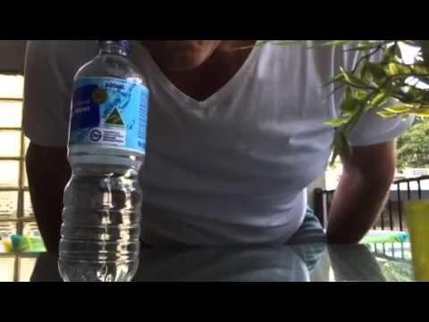 Aussie dad falls for coin under bottle prank