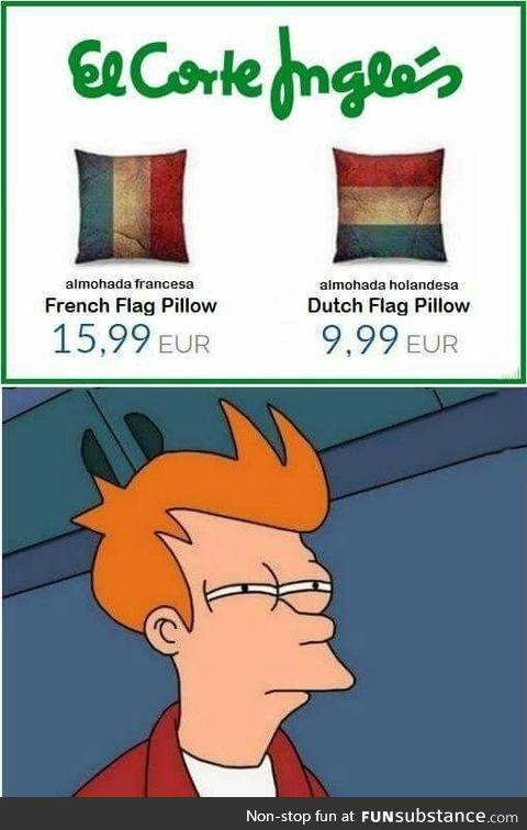 I think I'm gonna buy the French one