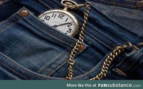 The original purpose of the smaller pocket on your jeans