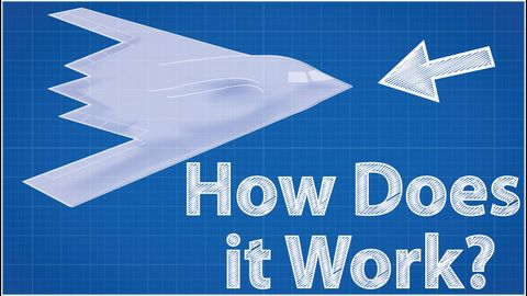 How does a Stealth plane work?