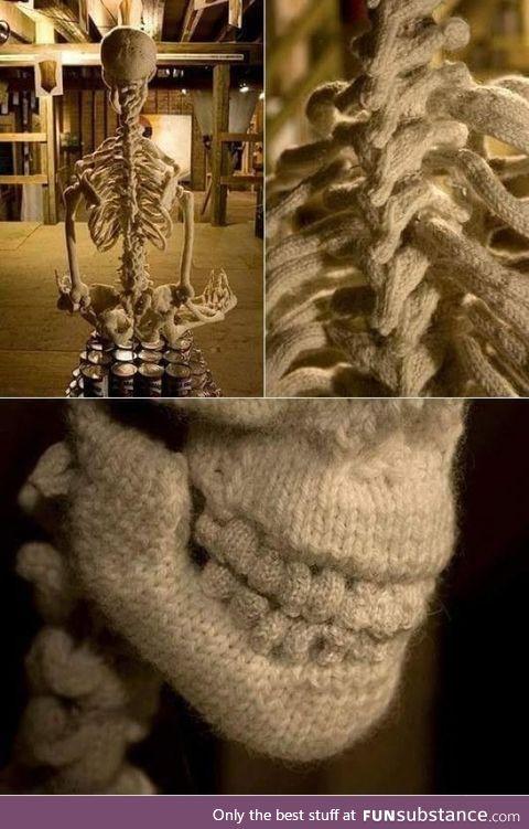 Knitting level: Skeleton