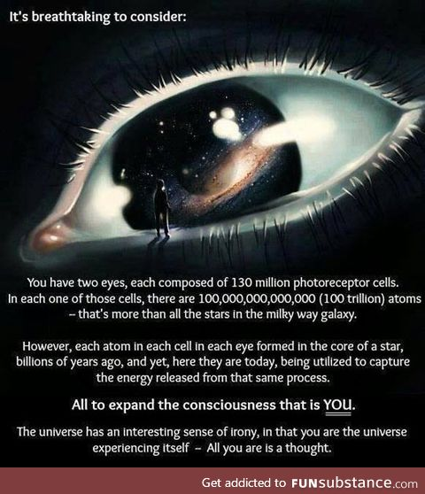 Mind boggling to think about