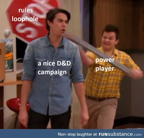 So much for a nice D&D Campaign