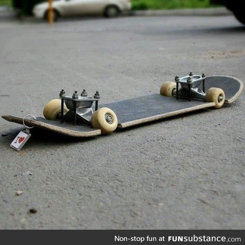 This would be fun to skate on