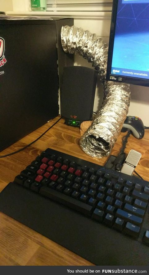 When your fingers get ice cold while gaming