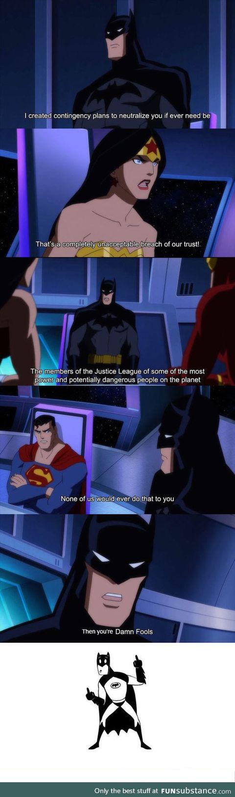 Batman is my favorite hero