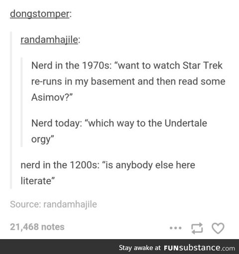 Nerds through the ages