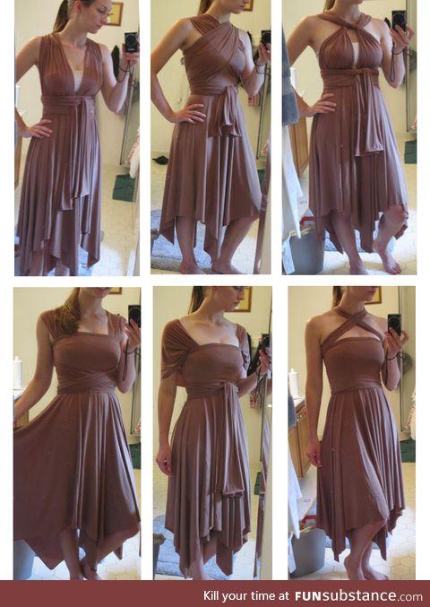 1 dress, 6 variations