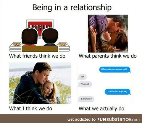 Being in a relationship
